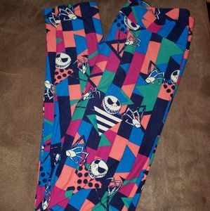 The nightmare before Christmas lularoe leggings